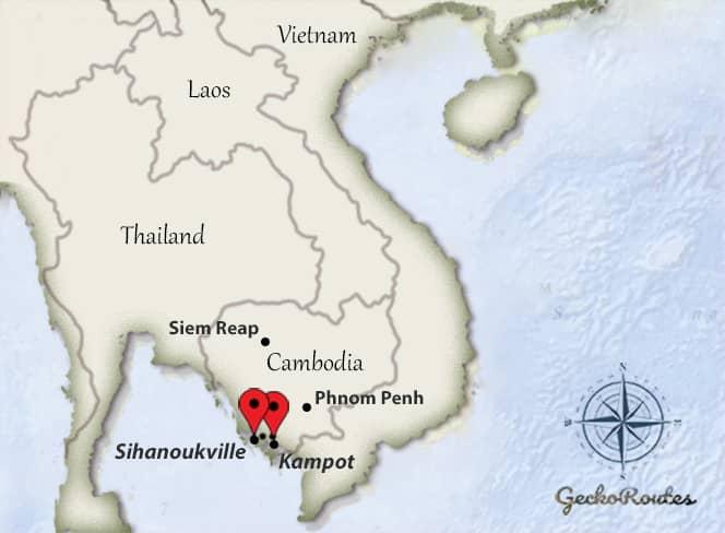 Kampot - Sihanoukville