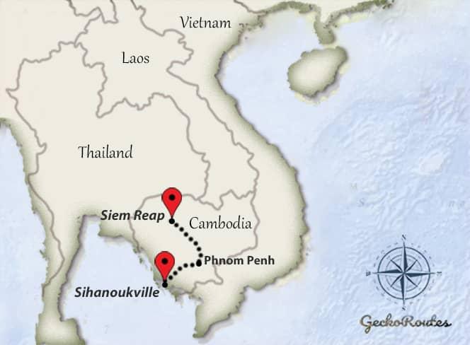 Siem Reap - Sihanoukville