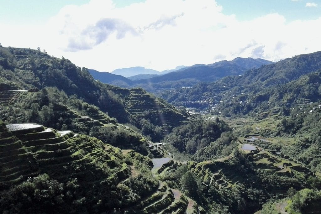 Benaue rice terraces tagalog Philippines