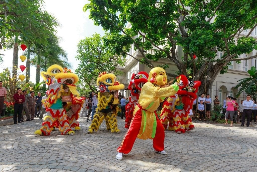 Tet parade - Vietnamese New Year