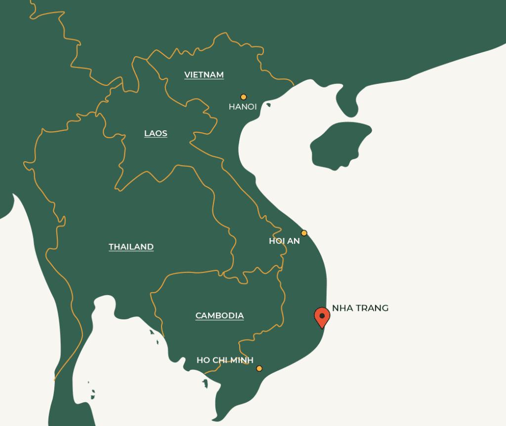 Nha Trang map