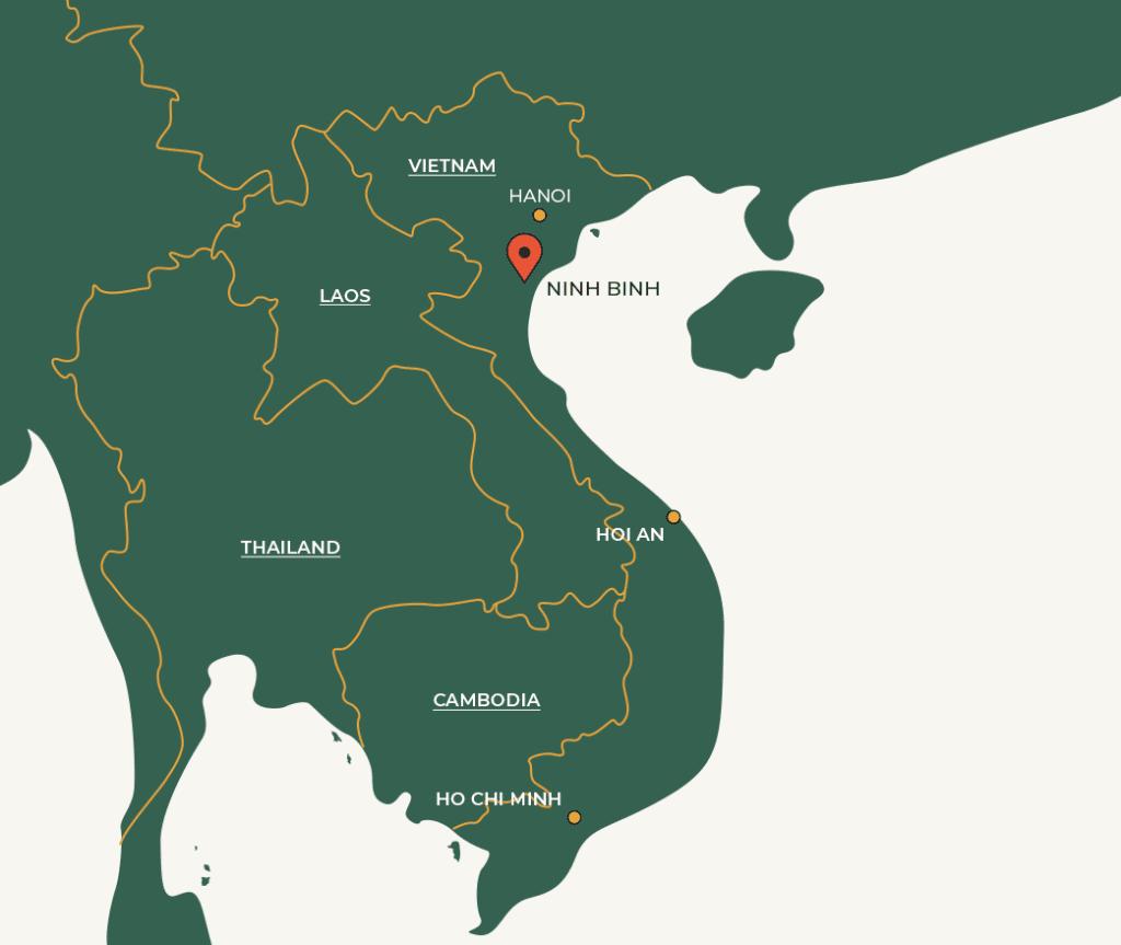 Ninh Binh map
